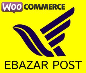 خرید افزونه اتصال پست ای بازار به ووکامرس ebazar